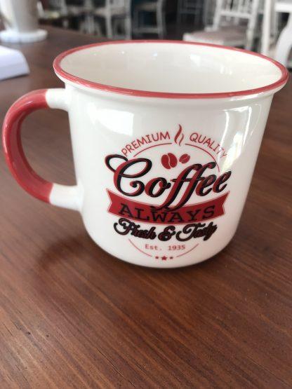 Taza Coffee Roja